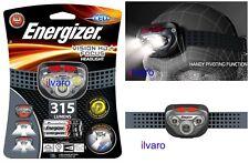 Energizer Vision HD+ 315 Lumens Focus LED Scheinwerfer Hände Gratis Stirnlampen