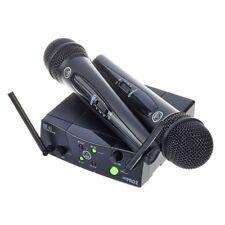 AKG WMS 40 MINI DUAL VOCAL SET (ISM 2/3) ricevitore + coppia microfoni wireless