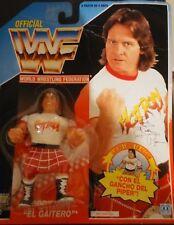 Figura WWF Hasbro Rowdy Roddy Piper Series 2 Tarjeta Azul Neon MOC
