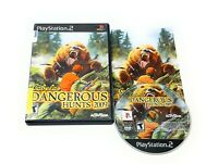 Cabela's Dangerous Hunts 2009 For PlayStation 2 PS2 Shooter Complete CIB