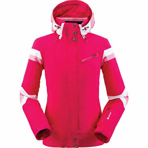 Women's Spyder Poise Breathable Gore-Tex Ski Jacket Size 8  Pink Berry NWOT
