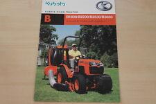 158585) Kubota B 1830 2230 2530 3030 Diesel Traktor Prospekt 02/2012