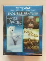 IMAX To the Arctic 3D/Born to Be Wild 3D (Blu-ray Disc, 2014, 3D)