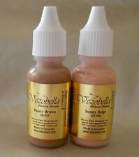PROFESSIONAL AIRBRUSH MAKEUP COSMETIC 2 (1/2 oz ) MEDIUM SHADE / TONE REFILLS