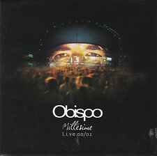 CD 14T PASCAL OBISPO MILLESIME LIVE 00/01 DE 2001 TBE