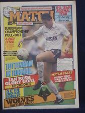 Match-Tottenham en caos - 28 de noviembre de 1987