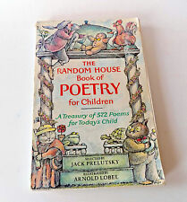 The Random House Book of Poetry for Children - Jack Prelutsky 1983
