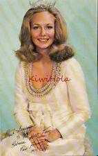 Postcard Miss America Rebecca Ann King 1974 Atlantic City NJ