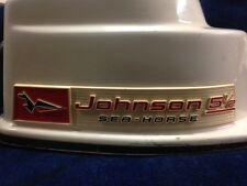 1960 Johnson 5.5 hp Hood and pan