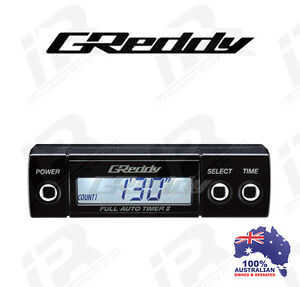 Greddy Full Auto Turbo Timer II Turbo Supercharged Diesel etc Universal Fit