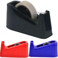 1 X Heavy Duty Sellotape Desktop Dispenser +1 Free Tape Weighted Anti Slip (D35)