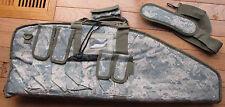 "Deluxe 28"" Paddled Machine Gun Bag,  Can take MP5 & UZI or 3 Pistol-ACU"