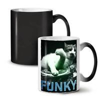 Funky Dj Animal Music NEW Colour Changing Tea Coffee Mug 11 oz   Wellcoda