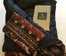 Ralph Lauren Pillowcases Poets Society Twin NIP Comforter Sham By Westpoint New