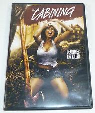 The Cabining (2014) DVD Low Budget Horror Comedy, Kopera, Melissa Mars