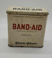 Vintage BAND-AID J&J tin large package