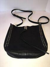 Rebecca Minkoff Small Darren Leather Feed Bag, Black $245