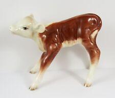 Rare Vintage c1940's Beswick Large Hereford Calf Figure :~ #854