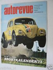 AUTOREVUE 1973-02A,PEUGEOT 104,RENAULT 12TS,MARLBORO F1,PIPER ESCORT,AMI SUPER