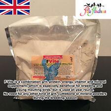 Dr Rob Marshall FVite 1kg Calcium Bird GRIT Vitamin Mineral Supplement ALL Birds