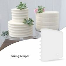 Cake Cream Edge Shaper Baking Smoother Kitchen Accessories Tool Pastry Scraper