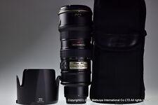 Nikon AF-S VR Nikkor Ed 70-200mm F/2.8G Excelente