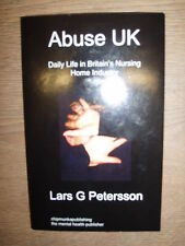 * ABUSE UK by LARS G PETERSSON * PROOF COPY* UK POST £3.25* PAPERBACK*