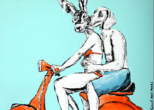 GILLIE AND MARC. Direct from artists. Authentic Art Print 'Love' 'Sun' 'Vespa'
