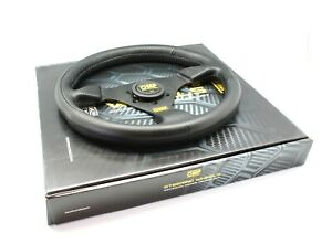 OMP RACING GP 330mm Black Polyurethane Steering Wheel OD/1981/NN