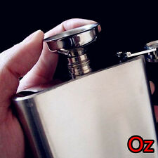 Mini Stainless Funnel, Quality Small Steel Filter for All Hip Flasks weirdland