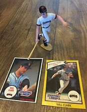 Starting Lineup 1990 Will Clark San Fransico Giants Slu Loose Figure
