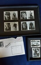 BEATLES FAN CLUB CARDS FRAMED 6 CARDS PLUS PAPERS