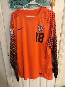 2010 World Cup USA SOCCER Match un worn Guzan Player issue Jersey Authentic