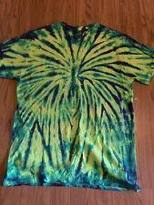 Gildan Tie Die T Shirt Homemade Size Medium