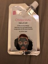 Global Beauty Care Charcoal Wash-off Face Mask 1oz/30mL Each IPSY NEW
