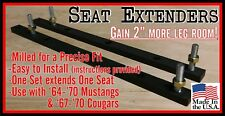 64-70 Mustang and 67-70 Cougar Seat extenders