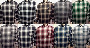 CALTOP OLD SCHOOL FLANNEL VETERANO LONGSLEEVE SHIRT PLAID SM-5X GANGSTER