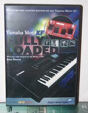 Yamaha mundo de Motif Xs lección de capacitación tutorial en vídeo DVD ayuda