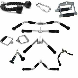 Tricep Ropes Pull Down Rope Fitness Equipment Gym Training Lever