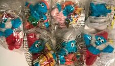 McDonalds Happy Meal Toys 1998 The Smurfs Calendar Smurfs 7 Different NEW MIP