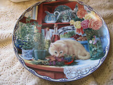 """""""Hanna's Secret Garden"""" by Mary Ann Lasher Warm Country Moments Plate"""