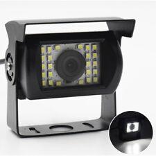 Waterproof Parking Rearview Backup Camera 24 LED Night Vision for Truck Bus Van