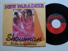 "NEW PARADISE: Showman - 7"" 45T 1979 French HANSA ATLANTIC 11291 LEO CARRIER"