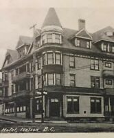 Postcard, The Hume Hotel, Nelson 1923, B.C. Canada, Vintage P24