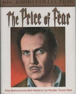 Vincent Price: The Price of Fear ~ Four BBC Radio Dramatisations on 2 Cassettes