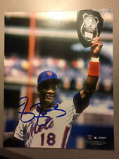 Darryl Strawberry Signed Auto 8X10 Photo Picture New York Mets