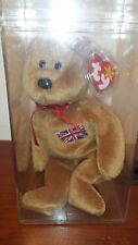 MWMT MQ Authenticate TY Indonesian Patch Britannia  Beanie Baby - TRUSTED SELLER