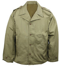 WWII U.S MILITARY ARMY MARINE CORPS M-41 FIELD JACKET M-1941 SIZE 44 LARGE