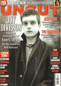 MAGAZINE UNCUT 2010 # 154 - JOY DIVISION/THE FREE/JEFF BECK/SERGE GAINSBOURG
