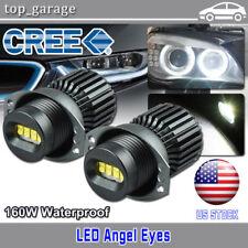 160W CREE LED Angel Eyes Halo Ring Light 2006-2008 BMW E90 323i 328i 330xi 335i